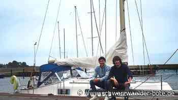 Zwei junge Rottweiler Helden - Mit dem Segelboot über den Atlantik - Schwarzwälder Bote