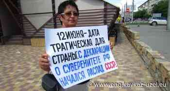 Volgograd picketers call the Day of Russia a tragic date - Caucasian Knot