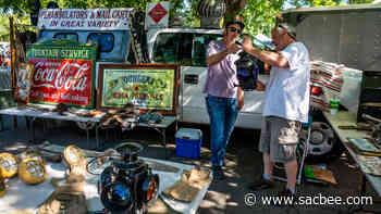 Video: Sacramento Antique Faire at new Natomas site - Sacramento Bee