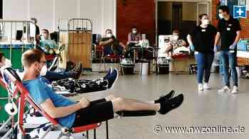 Weltblutspendetag in Friesoythe: Die Blutspenden fließen weiter - Nordwest-Zeitung