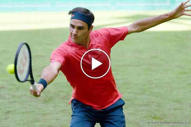 ATP Halle: Roger Federer vs Ivashka's HIGHLIGHTS