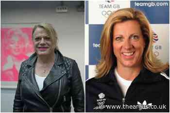 Eddie Izzard and Sally Gunnell support Sussex YMCA event