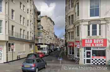 Charlie Dendo Wild collided with woman in Brighton Middle Street