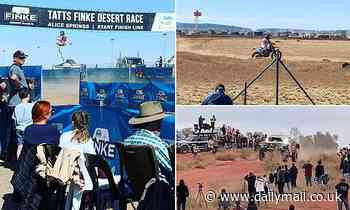 Tragic events that led to amateur photographer crushed to death by sand buggy at Finke Desert Race