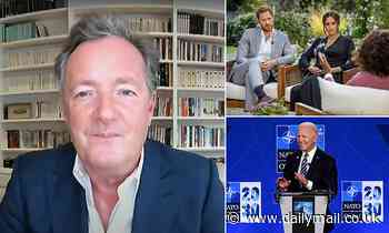 'Pipe down': Piers tells Harry and Meghan people are 'sick of their yapping'