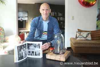 """Fotograaf Didier Vandenbosch maakt lampen van oude fietsonderdelen: """"Ik heb andere talenten kunnen ontwikkelen"""""""