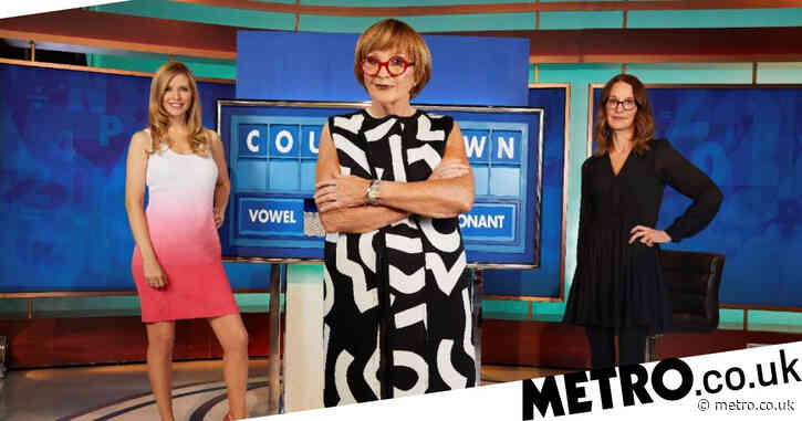 First look at Anne Robinson as new Countdown host as she joins Rachel Riley and Susie Dent on set