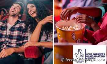 Get a free pair of cinema tickets this weekend to use at Cineworld, Odeon, Vue and more