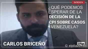 """Carlos Briceño: """"Decisión de Corte Penal Internacional no traerá cambios políticos en Venezuela"""" - El Pitazo"""