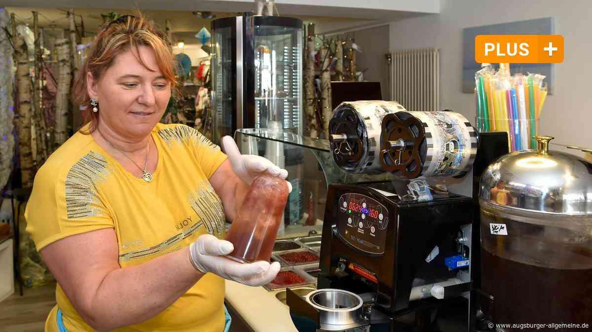 Das Trendgetränk Bubble Tea gibt es jetzt auch in Landsberg