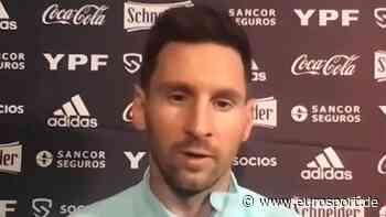 """Lionel Messi: Titel mit Argentinien """"größter Traum"""" - Fußball Video - Eurosport DE"""