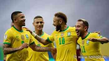 Südamerikameisterschaft: Neymar beschert Brasilien optimalen Copa-Start – Messi wegen Coronafällen besorgt - DER SPIEGEL
