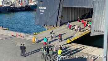 El puerto de Algeciras acoge el regreso del contingente de temporeras marroquíes de Huelva - El Estrecho Digital