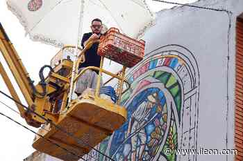 Santa María del Páramo estrena festival de arte urbano con cinco fachadas como paneles - ILEÓN.COM - ileon.com - Información de León