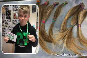 Boy donates eight inches of hair to Little Princess Trust