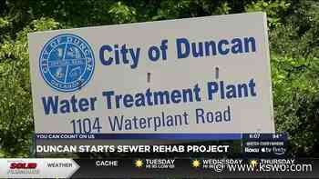 Duncan starting on Sanitary Sewer Rehab project - KSWO