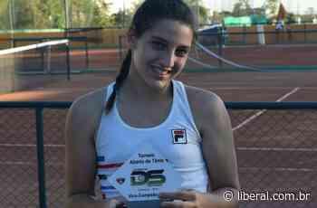O Liberal Atleta de Nova Odessa é vice-campeã em torneio da Federação Paulista de Tênis - O Liberal