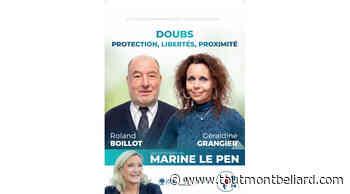 Elections Départementales 2021 : Canton de Bavans, Géraldine Grangier et Roland Boillot candidats - ToutMontbeliard.com