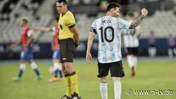 Chile frustriert Argentinien: Messis genialer Copa-Moment reicht nicht