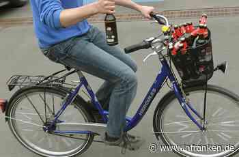 Rehau: Betrunkener Radfahrer wird von Polizei aus dem Verkehr gezogen - anschließend trinkt und fährt er einfach weiter - inFranken.de