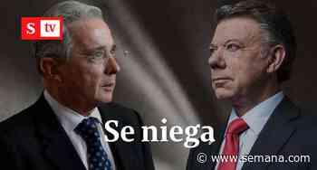 """De ninguna manera"": Uribe asegura que no responsabilizará a Santos de los falsos positivos - Semana"