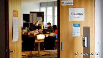 """Ein Blick hinter die Kulissen: Viel los im """"Fuchsbau"""": So arbeitet der Corona-Krisenstab im Kreis Steinfurt - noz.de - Neue Osnabrücker Zeitung"""
