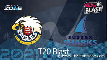 2021 Vitality t20 Blast – Essex Eagles vs Sussex Sharks Preview & Prediction - The Stats Zone