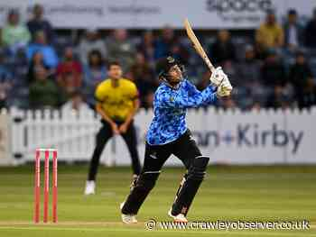 Your chance to WIN tickets to see Sussex Sharks in the Vitality Blast - Crawley Observer