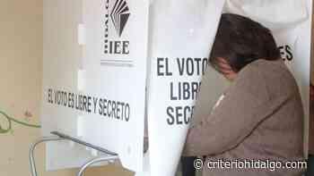 Instalarán 612 casillas en distrito II Ixmiquilpan - Criterio Hidalgo