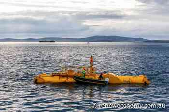 New Scottish wave power technology takes to the seas for initial tests - RenewEconomy