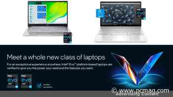 Get a New Laptop With Intel Evo Technology for as Low as $800 - PCMag.com