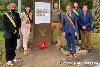 Infobord vertelt verhaal van neergestorte bommenwerper (Jabbeke) - Het Nieuwsblad