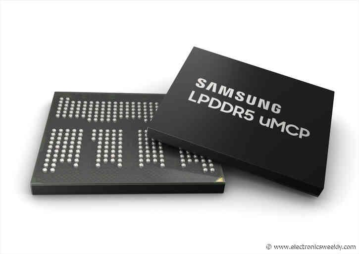 Samsung starts mass production of DRAM/NAND memory module