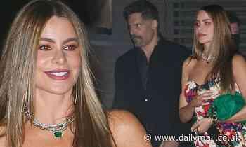 Sofia Vergara celebrates the seventh anniversary of her first date with husband Joe Manganiello - Daily Mail