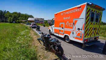 Kierspe/Sauerland: Motorradfahrer überschlägt sich nach Ausweichmanöver - come-on.de