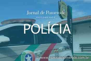 Condutor é detido por embriaguez ao volante, em Pomerode - Jornal de Pomerode