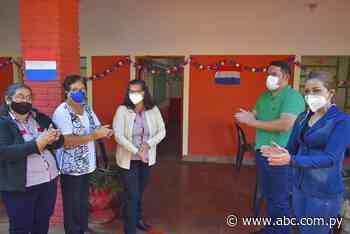 Habilitaron mejoras en escuela de Villarrica - Nacionales - ABC Color