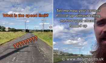 Driver shares council fail with two signs with different speed limits on one road in Lismore, NSW