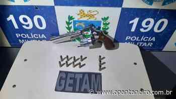Em Aquidauana, homem é preso após efetuar disparos de arma de fogo contra a ex-companheira - O Pantaneiro