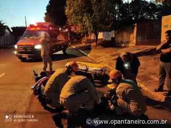 Em Aquidauana, motociclista foge de acidente sem prestar socorro à vítima - O Pantaneiro