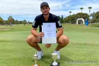 Atleta do Santa Maria Golfe Clube fica com a terceira colocação em torneio no México - Diário de Santa Maria