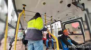 Trujillo: un 70% de mujeres dice haber sido acosada en transporte público - LaRepública.pe