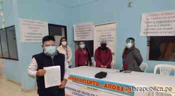 Trujillo: trabajadores de salud exigen nombramiento - LaRepública.pe