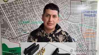 Trujillo: hombre es detenido luego de disparar en la calle - LaRepública.pe