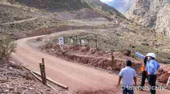 Carretera que unirá Trujillo con Bolivar está en un 80% de avance - LaRepública.pe