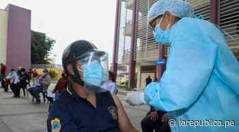 Trujillo: trabajadores municipales fueron inmunizados con segunda dosis - LaRepública.pe