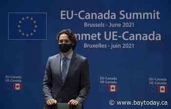 Trudeau to visit Pfizer on final day of international pandemic trip, begin quarantine