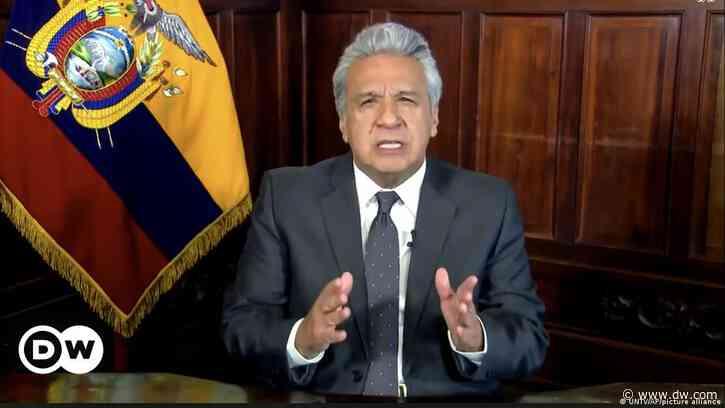 Ecuador: acusan a Lenín Moreno por material antidisturbios en Bolivia - DW (Español)