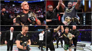 La nueva era de la UFC: Brandon Moreno se suma a los peleadores campeones del 2021 - Marca Claro USA