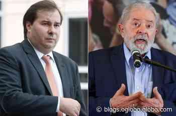 Rodrigo Maia se oferece para ajudar Lula em 2022 - Jornal O Globo